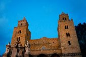 The norman cathedral of Cefalu' in Sicily