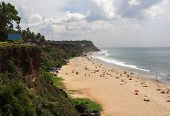 Varkala Beach Kerala India