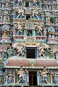 Hindu Temple In South India