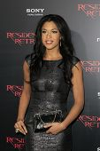 LOS ANGELES - SEP 12:  Kali Hawk arrives at the
