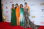LOS ANGELES - SEP 16:  Dania Ramirez, Edy Ganem, Judy Reyes and Ana Ortiz in the press room at the 2