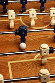 Hardwood Foosball Table Game