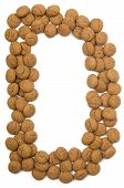 Ginger Nut Alphabet D