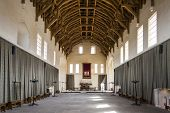 interior of Stirling Castle, Scotland
