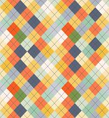 stock photo of tartan plaid  - Seamless Argyle Sweater Background - JPG