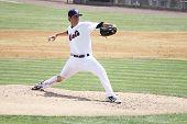 Binghamton Mets pitcher Cory Mazzoni