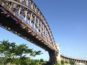 picture of trestle bridge  - Hell - JPG
