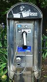 Old street phone in Brooklyn