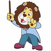 Dibujos animados León música Conductor