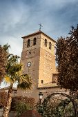 Church tower in Spain