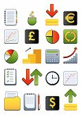 financial web icon
