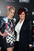 Kelly Osbourne, Sharon Osbourne at the