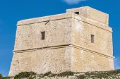 Dwajra Tower Located In Gozo Island, Malta.