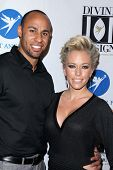 Hank Baskett, Kendra Wilkinson at the 2011 Divine Design Gala, Beverly Hilton Hotel, Beverly Hills,