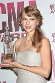 Taylor Swift at the 2011 CMA Awards, Bridgestone Arena, Nashville, TN 11-09-11