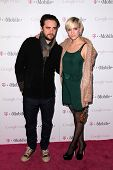 Vincent Piazza and Ashlee Simpson at Google And T-Mobile Celebrate The Launch Of Google Music, Mr. Brainwash Studios, Los Angeles, CA 11-16-11