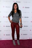 Emmanuelle Chriqui at Google And T-Mobile Celebrate The Launch Of Google Music, Mr. Brainwash Studios, Los Angeles, CA 11-16-11