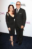 Gloria Estefan, Emilio Estefan Jr. at the Hollywood Bowl 90th Season Hall of Fame Ceremony, Hollywoo