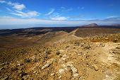In Los Volcanes Volcanic Timanfaya  Rock Stone Sky