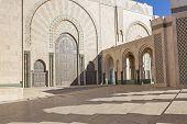 Mosque Hassan II in Casablanca, Morocco, Africa