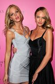 Erin Heatherton, Candice Swanepoel at the Victoria's Secret release of the 2011 What Is Sexy? list and the kickoffr to the bombshell summer tour, The Beverly, Los Angeles, CA. 05-12-11
