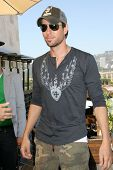 Enrique Iglesias at their tour announcment, The Thompson  Hotel, Los Angeles, CA. 05-12-11