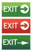 vector exit signs