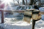 Frozen Romanian Traditional Stream Whirlpool