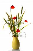 Wild Flowers Poppy Bouquet
