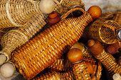 Basketry Bottles