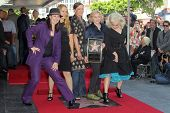 Kathy Valentine, Charlotte Caffey, Belinda Carlisle, Gina Schock and Jane Wiedlin at the Go-Go's induction into the Hollywood Walk of Fame, Hollywood, CA. 08-11-11