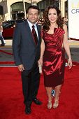 Maria Canals-Barrera with husband David at the