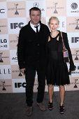 Liev Schreiber and Naomi Watts at the 2011 Film Independent Spirit Awards, Santa Monica Beach, Santa Monica, CA 02-26-11