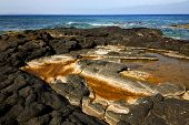 Landscape Rock Stone In Lanzarote Spain Isle