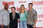 David Alan Grier, Martin Short, Heidi Klum, Patrick Warburton at the