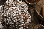 Chocolate Crinkle Cookies With Powdered Sugar