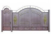 Forged Gates And Door By Ornament.