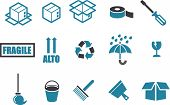 pic of delivery-truck  - Vector icons pack  - JPG