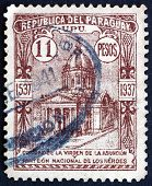 Postage Stamp Paraguay 1938 Oratory Of The Virgin, Asuncion