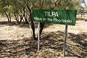 Tilpa Town Sign