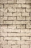 Dirty Vintage Brick Wall Texture Background