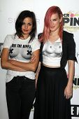 LOS ANGELES - JUN 19:  Rumer Willis, Lina Esco at the