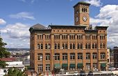 Clock Tower Building Tacoma Washington.