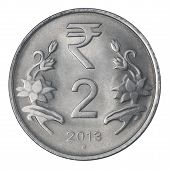 Two Indian Rupee
