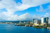 Beautiful View Of Honolulu, Hawaii, United States