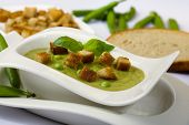 Green Soup With Bread