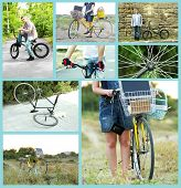Bicycle collage