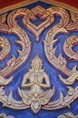 The Figure Of Deva Sculpture