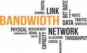 word cloud - bandwidth