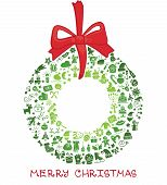 pic of christmas wreath  - Christmas - JPG